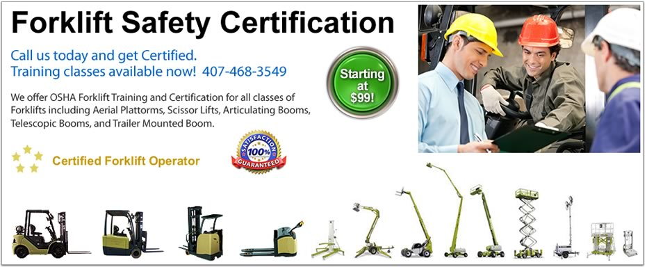 Forklift Safety Training Orlando Fl Lift Certification Best Classes